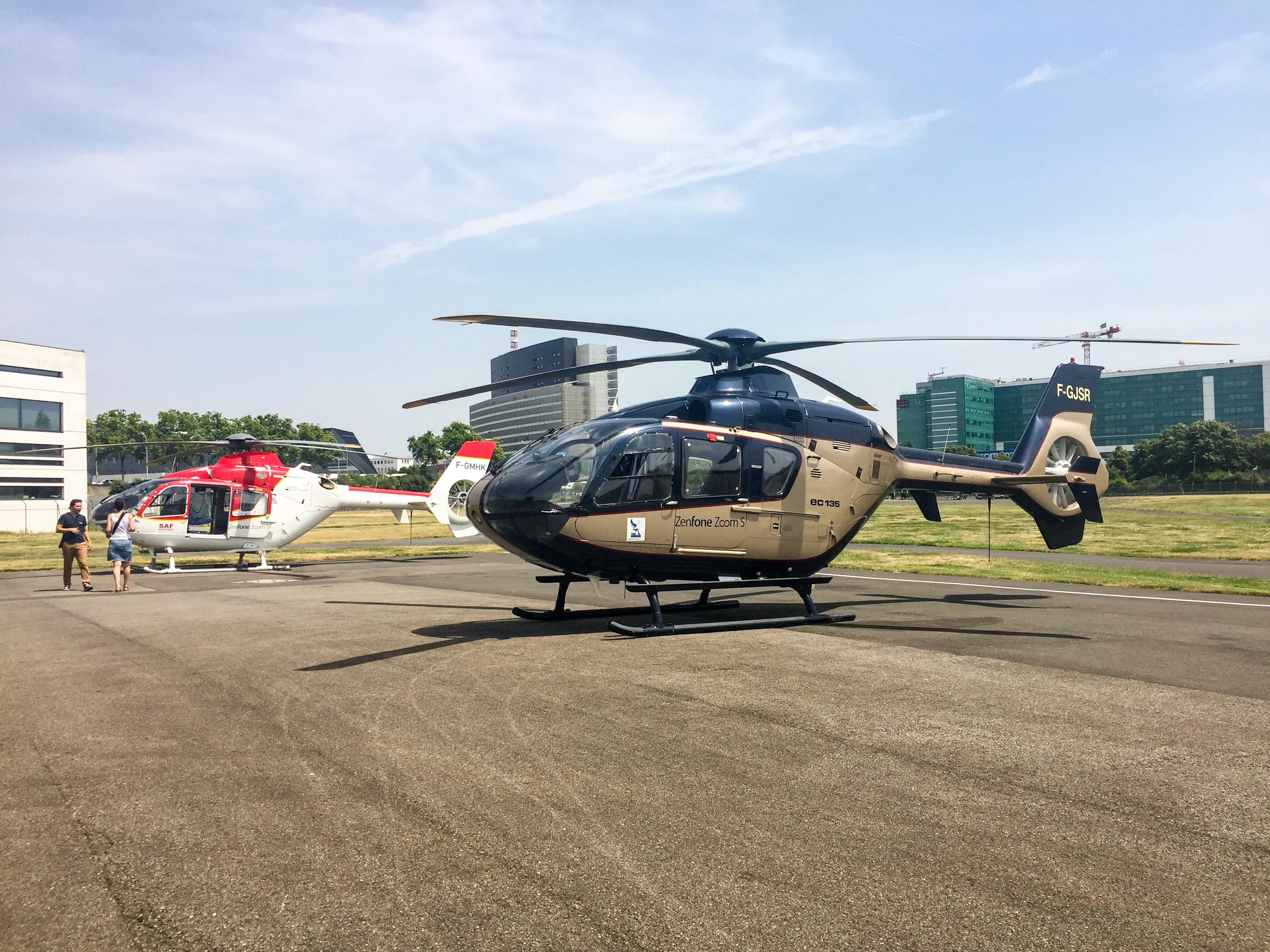 Asus Zenfone Survol Paris Helicoptere Helipass